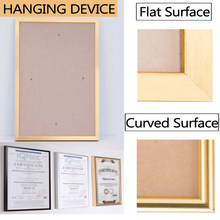 Picture Frame Metal Poster Frame Classic Aluminum Photo Frames For Wall Hanging A4 Certificate Frame Home Decor(China)