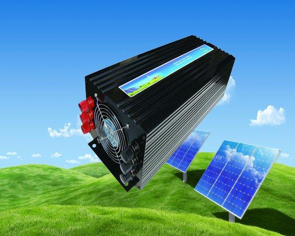 Solare invertitore di energia 4000 W Inverter Onda Sinusoidale Pura Inverter 4000 W di Potenza di Picco CE, ROHSSolare invertitore di energia 4000 W Inverter Onda Sinusoidale Pura Inverter 4000 W di Potenza di Picco CE, ROHS