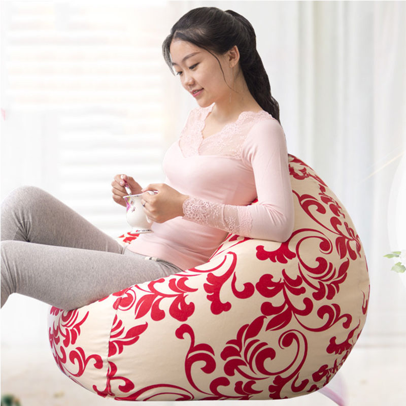 Adult Bean Bag Cover Lounger Chair for Living Room Outdoor Pouf Puff Seat Home Furniture Just Beanbag Cover Without the Filliing green bean bag chair outdoor beanbag recliner living room home furniture sofa seat