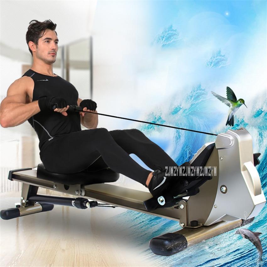 Máquina de Remo V336 Resistência de Óleo Mudo Corpo Planador Home Indoor Equipamentos de Ginástica Abdominal Peitoral Braço de Treinamento de Fitness Resistência