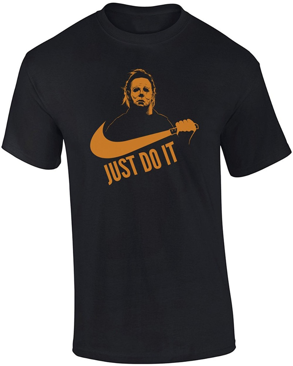 Just Do It Michael Myers Halloween men T-shirt ...