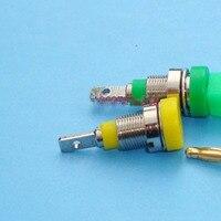 2mm muz fişler enstrüman öğretim ekipmanları güç sinyal Saf bakır mini muz terminali