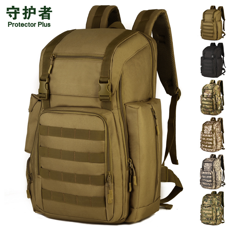 Climbing Bags Sports & Entertainment 40l Backpack Outdoor Tactics Backpack Mountaineering Bag Camouflage Computer Bag With Shoe Pocket Men Backpack Male Bag A4266 And Digestion Helping