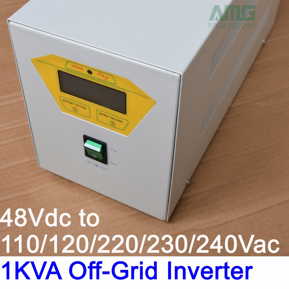 цена на 1000VA pure sine wave off grid solar inverter 24V/48Vdc to 110/120/220/230/240VAC 50/60Hz Industrial Frequency