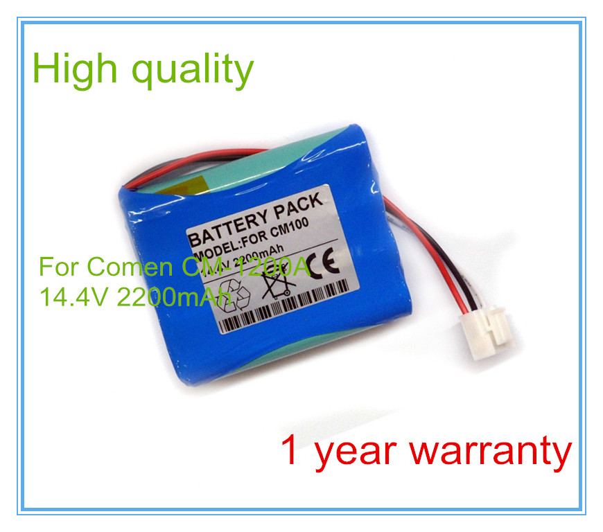 Medical Battery Replacement FOR ECG Battery CM100,CM-100,CM100BAT Vital Signs Monitor battery replacement medical battery for mindray equipment t5 t6 t8 ecg battery