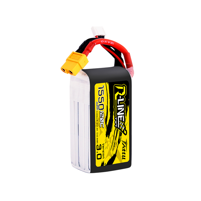 Image 3 - New Tattu R line 120C V3 1300/1550/1800/2000mAh 120C 4S 14.8V Lipo Battery with XT60 Plug for FPV Racing Drone RC Quadcopter-in Parts & Accessories from Toys & Hobbies
