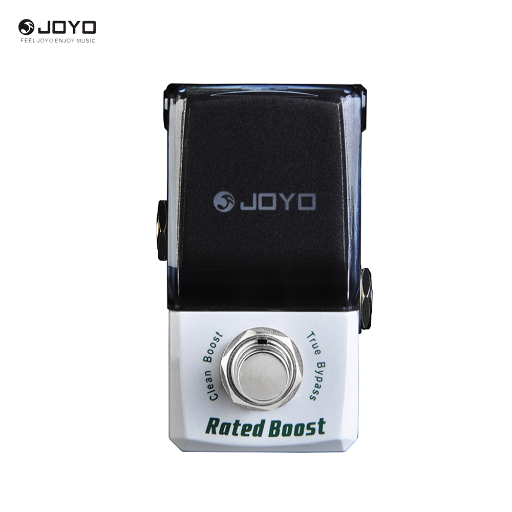 New Arrival JOYO JF-301 Rated Boost Clean Booster Ironman Mini Series Effect Pedal True Bypass diy booster boost clean guitar effect pedal boost true bypass booster kits fp
