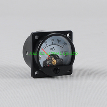 1pc VU Voltage 200MA Panel Meter Gauge Black fr 300B 211 845 KT88 Tube Amplifier