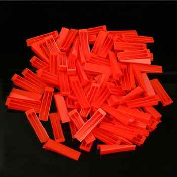 300pcs Plastic Ceramic Tile Leveling System 200 Clips+100 Wedges Tiling Flooring Tools Wedges Clips free shipping