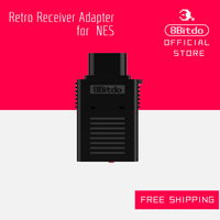 Free Shipping 2016 NEW 8Bitdo Bluetooth Retro Receiver Adapter NES Version Support All 8Bitdo Controller