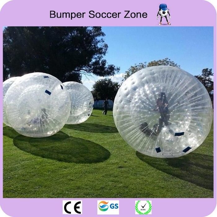 Envío libre bola del Zorb 2.5 m Bola de hámster humano 0.8mm PVC bola inflable del Zorb juego al aire libre