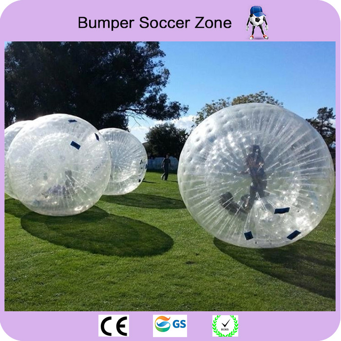 Free Shipping Zorb Ball 2.5m Human Hamster Ball 0.8 mm PVC Material Zorb Inflatable Ball Outdoor Game inflatable zorb ball race track pvc go kart racing track for sporting party