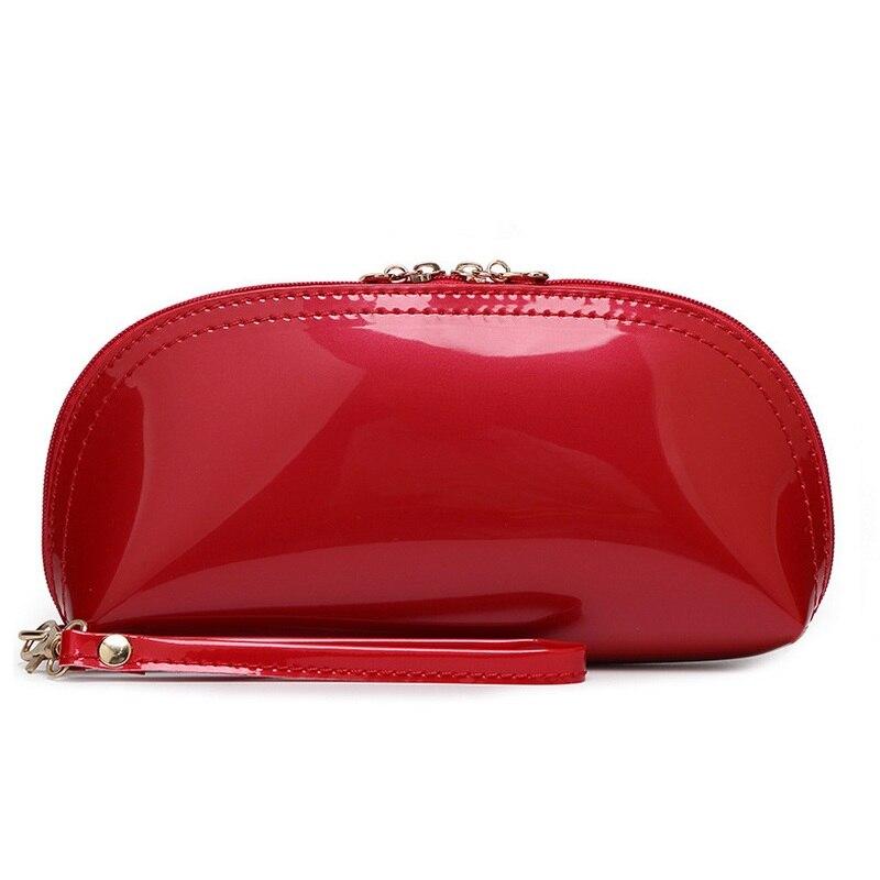 Aliexpress.com : Buy Patent Leather Semicircular Women Fashion ...