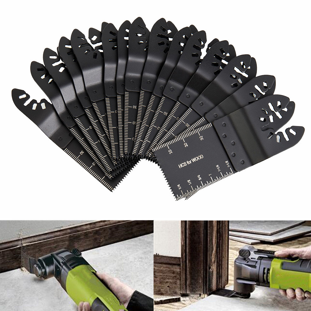 15pcs 93*35mm Saw Blades Wood Mix Oscillating Multitool ...