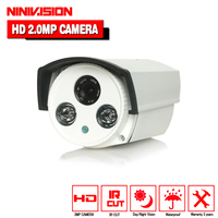 High Definition Camera 2pcs Array Ir Leds 40m Distance 0 001lux Metal Osd Menu Sony Imx322
