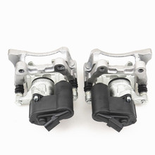 Best price ZUCZUG 1 Pair Rear Brake Handbrake Caliper Pump Assembly For Q3 Seat Alhambra VW Passat B7 Tiguan Sharan 32332267 3C0 998 281 B