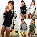 5XL 2017 Plus Size Women Clothing Autumn Winter Women T-shirt Casual Sexy Splicing Printed Tops Large Big Size Long Sleeve Tops