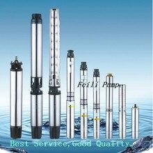 Водяной насос для глубокой скважины 125 м Глубинного Насоса Насос Скважины 3 кВт глубинного насоса