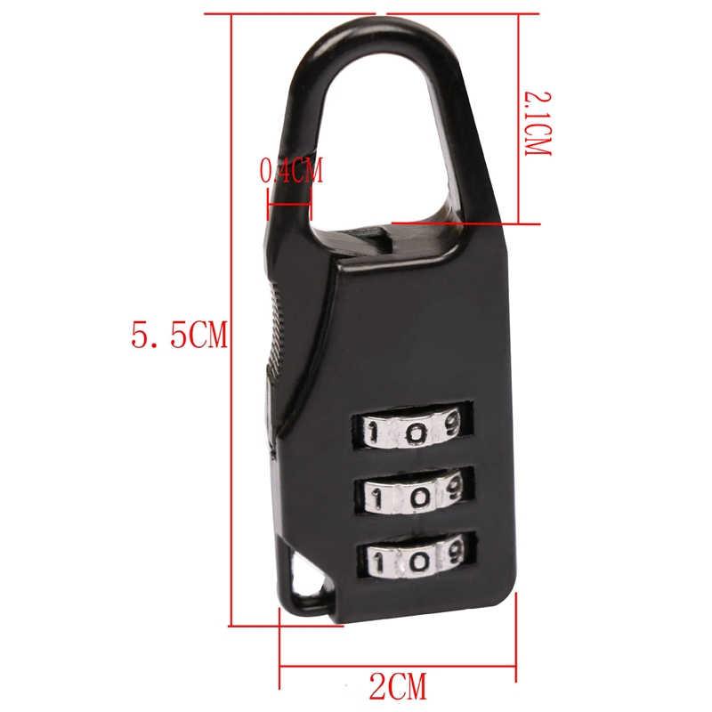 1Pcs Anzahl Lock Symbol Kombination Sicher Code Mini Vorhängeschloss für Gepäck Rucksack Tasche Koffer Schublade Lock