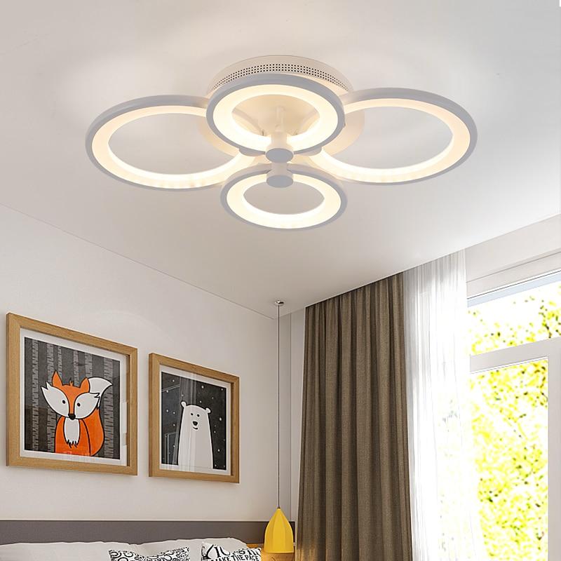Dimmen + Fernbedienung Wohnzimmer Arbeitszimmer Schlafzimmer moderne - Innenbeleuchtung - Foto 4