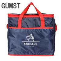 GUMST Extra Large Thickening Cooler Bag Ice Pack Insulated Lunch Bag Cold Storage Bags Fresh Food Picnic Container