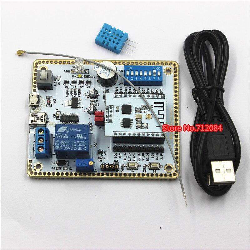 SDK development, ESP8266 serial wifi module, 8266 development board, wifi module, wireless transceiver modules md2503s module sdk development kit ln03gw development board wifi gps gprs gsm esp8266