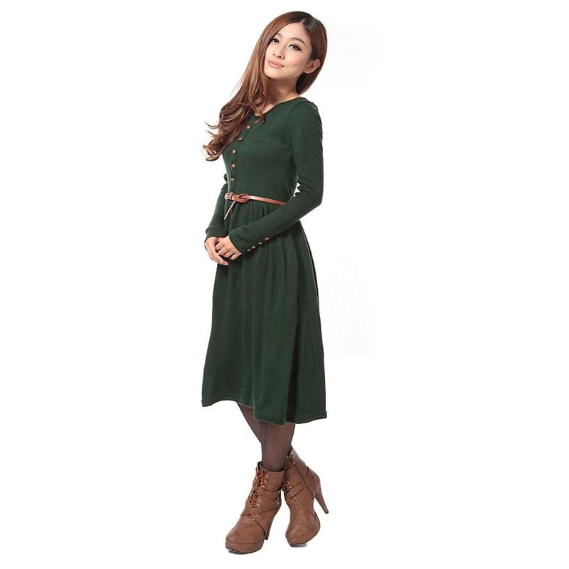 Favori Robe longue coton manche longue - Robe fashion france GL43