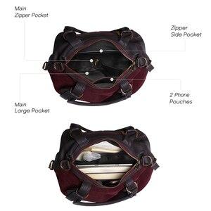 Image 4 - Nico Louise Women Real Suede Leather Boston Bag Original Design Lady Shoulder Traveling Doctor Handbag Top handle Bags Sac