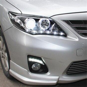 Car Flashing 2pcs For Toyota Corolla 2011 2012 2013 LED DRL Daytime Running Light Daylight Waterproof Signal lamp car Styling