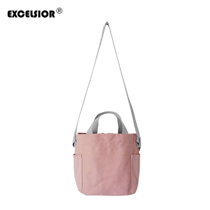 2018 Мода Свежий Для женщин Холст сумка женская панелями Повседневное Crossbody Сумочка Повседневное Леди Сумка Хобо топ-ручка сумки