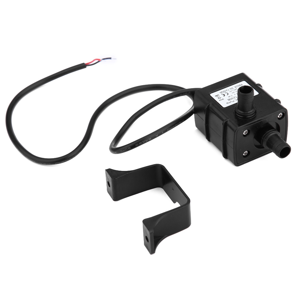 Dc 12v micro brushless submersible water pump waterproof for Waterproof dc motor 12v