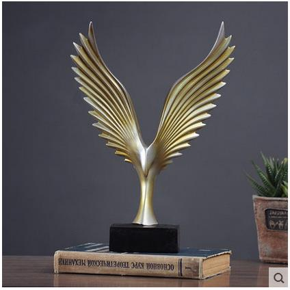 creative resin eagle figurines vintage eagle statue home decor crafts room decoration objects resin animal figurines ornament statue