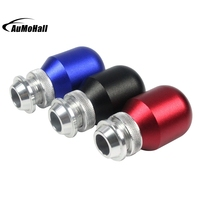 1 Pcs Universal Car Gear Shift Knob With 4 Colors Car Styling Manual Shift Knob Metal
