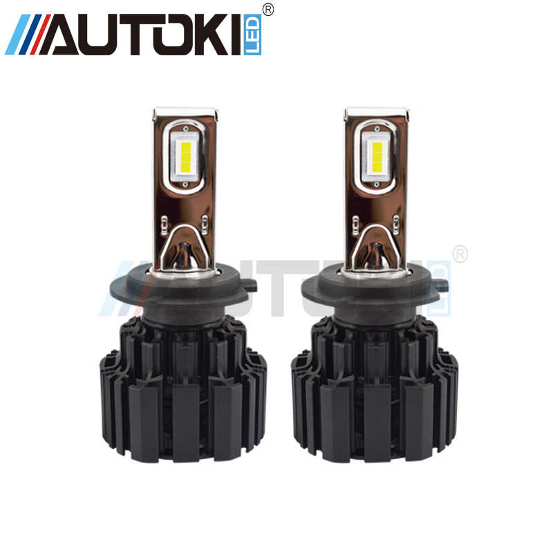 Free Shipping Autoki H4 H7 H11 9006 9005 P9 Auto Car Led Headlight 100W 13600LM High Low Beam Bulb All In One Automobile Lamps
