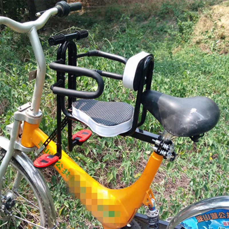 Front Seat Mat road mountain bicycles safety seat stainless steel 6 months-7 year old bike safety chair