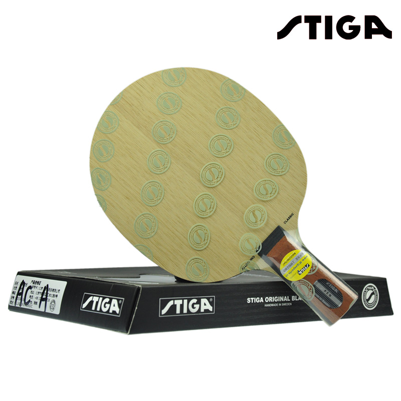 STIGA Allround Classic AC Table Tennis Blade (5 Ply) Racket Ping Pong Bat sanwei 2017 new a9 5 ply single solid wood core powerful attack table tennis blade ping pong racket bat