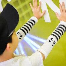 † Детская Татуировка Ледяные Рукава Солнцезащитные Перчатки Девочка и Мальчик Лето Тонкие Рукавицы