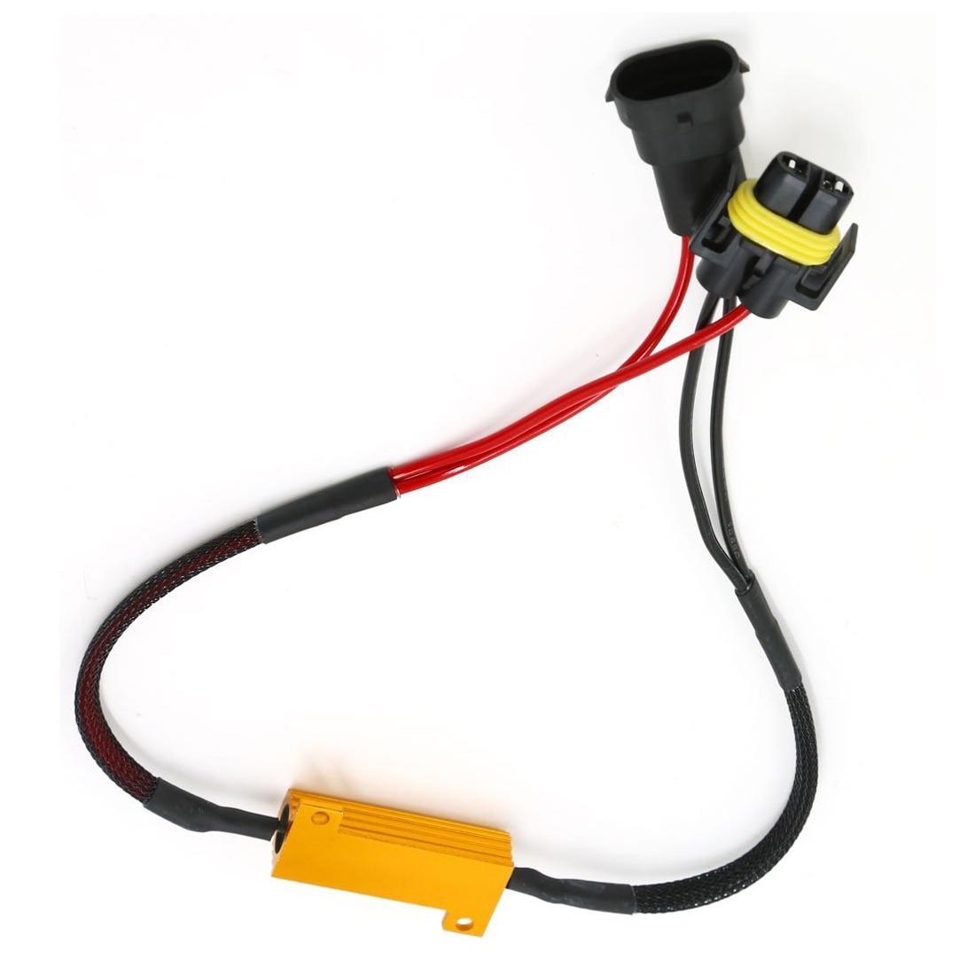 h11 led load resistor wiring harness wiring diagram library wsfs hot 2 pcs h11 error load resistor bypass wiring harnesswsfs hot 2 pcs h11