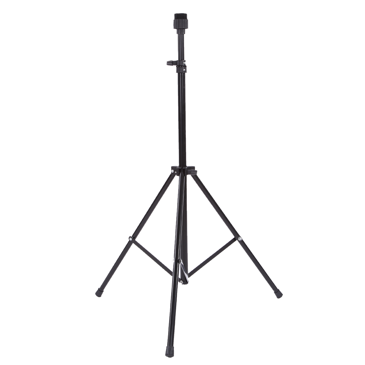 Salon Adjustable Wig Tripod Stand Hair Practice Training Mannequin Head Holder Clamp Showed Prop Wig Hairstyling Tool