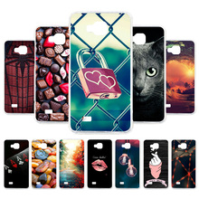 Case For ZTE Blade AF3 Phone Back Cover Shell A5 TPU Cartoon Pattern A3 Silicone Fundas Capa Cases