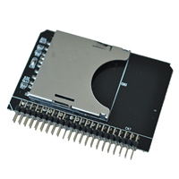 WSFS Hot 44-Pin Male IDE To SD Card Adapter