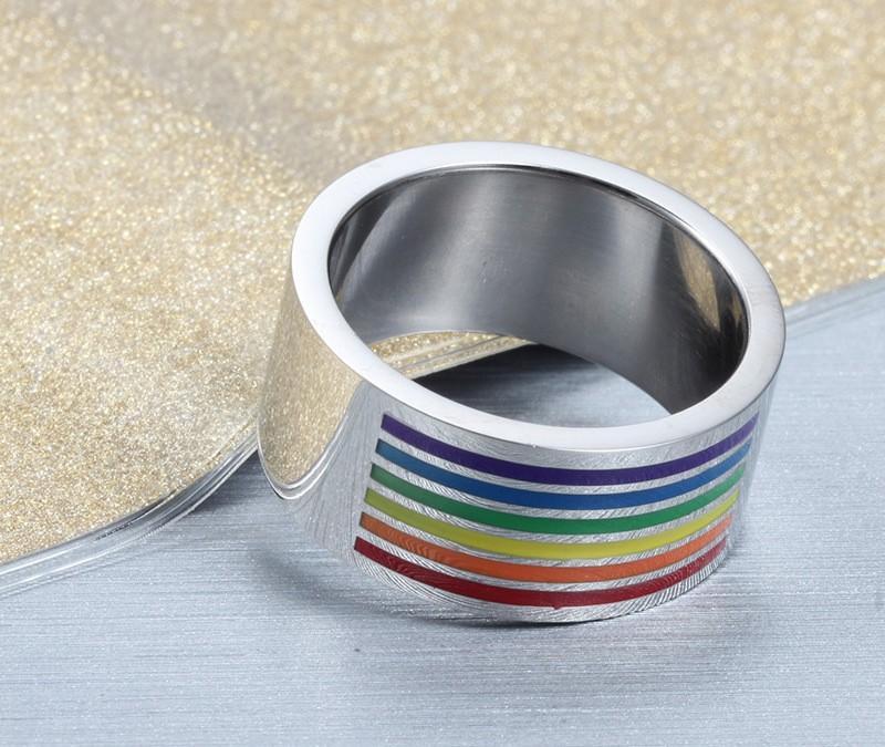 HTB17ThjIFXXXXa1XFXXq6xXFXXX3 - Multicolor Titanium Steel Ring