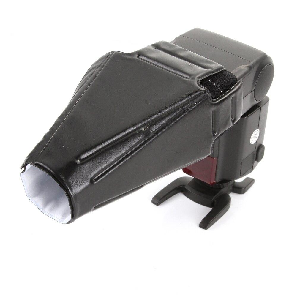 Складной отражатель вспышки Snoot Sealed Flash Gun, софтбокс, рассеиватель лучей, ткань