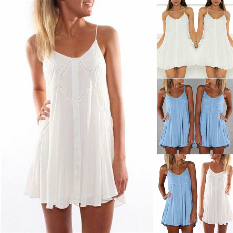 Sexy Nightgown Women Sleeveless Strap Lace Nightwear Sleepwear Female Lounge Wear Night Dress Home Sleepshirt Nighty