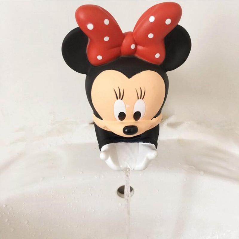 น่ารักก๊อกน้ำ Extender Duraable การ์ตูนเด็กอ่างล้างจานห้องน้ำก๊อกน้ำ Extender ปูซักผ้ามือตกแต่งคริสต์มาส X