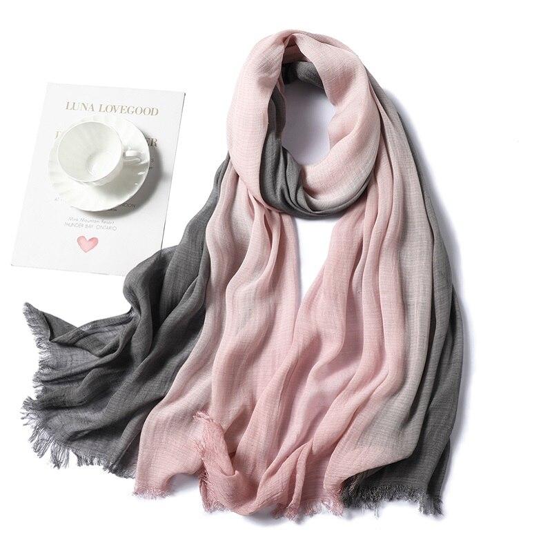 2019 New Women's Winter Scarf Fashion Patchwork Cotton Shawls and Wraps Ladies Warm Scarves Hijabs Neckerchief Foulard Pashmina