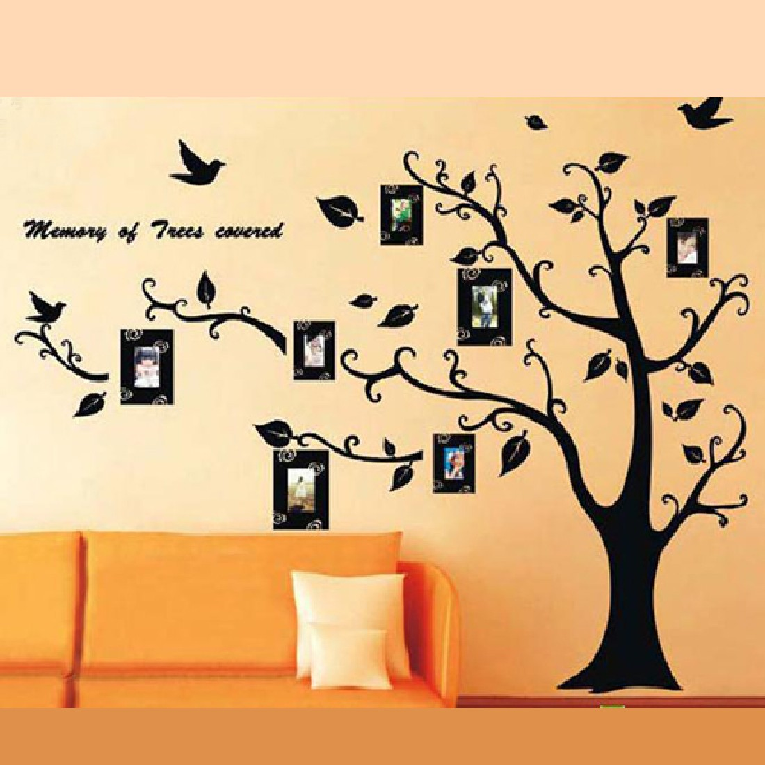 Brand New Cm Photo Frame Tree Wall Decal Decor Room Stickers - Wall decals picture frames