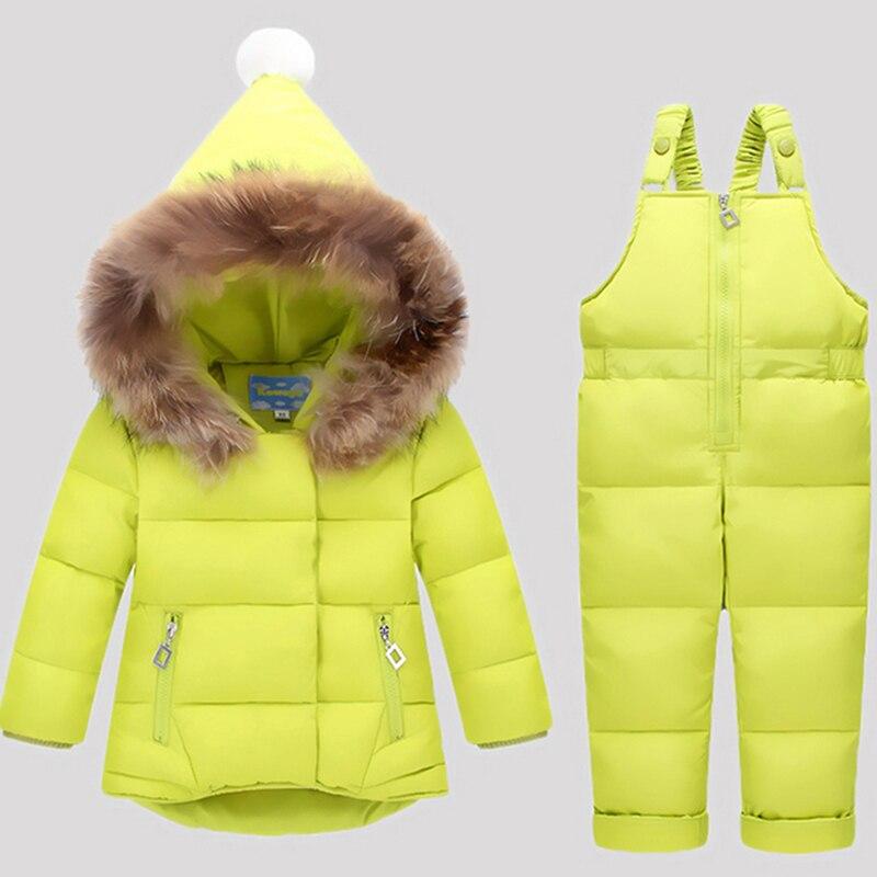 Russia-Winter-Children-Clothing-Sets-Jumpsuit-Snow-Jacketsbib-Pant-2pcs-Set-Baby-Boy-Girls-Duck-Down-Coats-Jacket-With-Fur-Hood-2