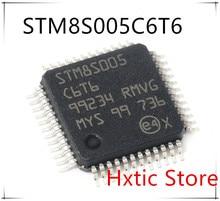 Free Shipping NEW 10pcs/lot STM8S005C6T6TR STM8S005C6T6 STM8S005 LQFP-48