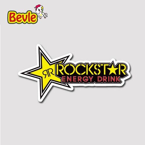 Bevle 1394 Rock Star Music 3M Sticker Waterproof Laptop Luggage Fridge Skateboard Car Graffiti Cartoon Tide Sticke